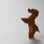 Як зробити собаку орігамі «Down Boy!» від Paul Frasco