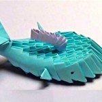 Модульне орігамі Дельфін