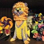 Модульне орігамі Лев – король тварин