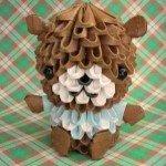 Модульне орігамі Ведмедик – відмінний подарунок 8 березня