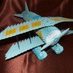 Модульне орігамі Літак – полетіли :)