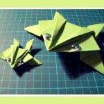 Орігамі для дітей жаба
