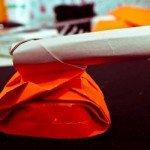 Орігамі з паперу Танк