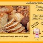 Бесіда з дитиною на тему «Як вирощують хліб?»