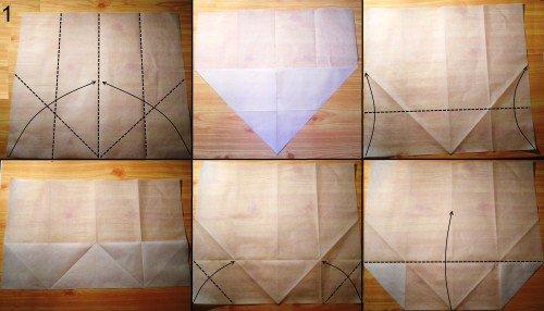 орігамі гаманець схема 1