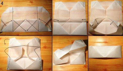 орігамі гаманець схема 4