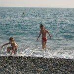 Як купати дитину в море / Дошкільнята