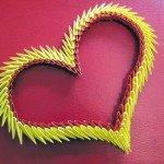 Подарунки на день закоханих: модульне орігамі серце майстер клас