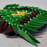 Орігамі модульне черепаха майстер-клас