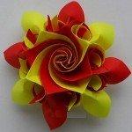 Орігамі квітка водозбору
