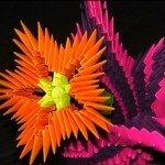 Падалка на восьме березня – модульний Квітка схема збірки.