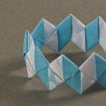 Прикраси орігамі – браслет з модулів