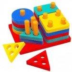Вивчаємо кольори і форми з дитиною у віці 1 – 2 років