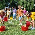 Ігри на свіжому повітрі для школярів