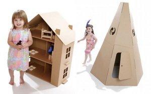Будуємо будиночок для дітей