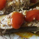 Баклажани, фаршировані м'ясом