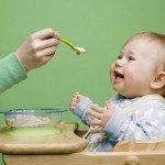 Перший прикорм дитини в 5 місяців