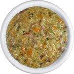 Суп з пшоном і тушкованими овочами