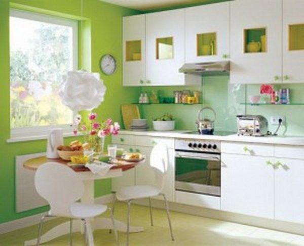 Як вибрати колір шпалер на кухню