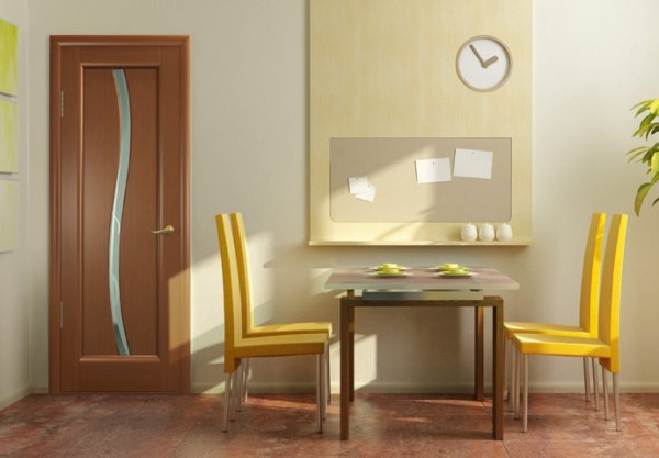 Міжкімнатні двері в дизайні інтер'єру