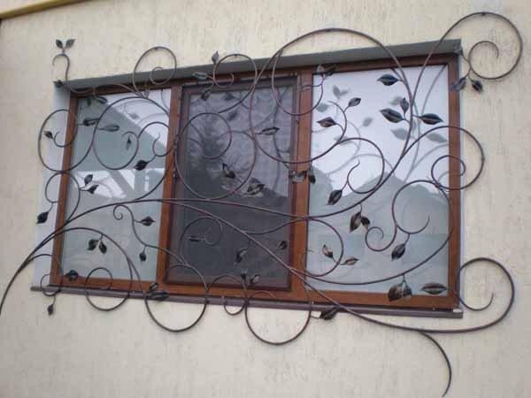 Варіанти віконних решіток