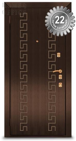 Сталеві двері Ельбор – 22 рівня захисту від злому