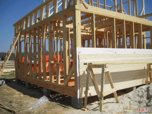 Каркасний будинок – новизна у вітчизняному будівництві