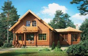 Дерев'яні будинки під ключ