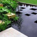 Садовий ландшафт для стилю модерн
