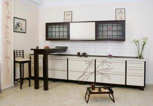 Інтер'єр кухні в східному стилі