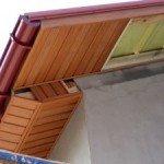 Пристрій карниза даху