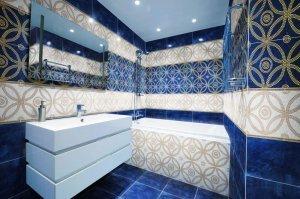 Настінна плитка для ванної