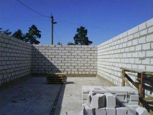 Будівництво гаража