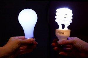 Види ламп