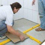 Монтаж підлогової плитки своїми руками