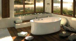 Ремонт ванних кімнат котеджу