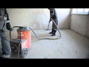 Як очистити підлогу від будівельного сміття?