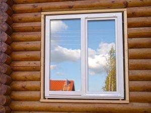 Монтаж вікон в дерев'яному будинку