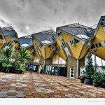 Роттердамського Кубічні будинки