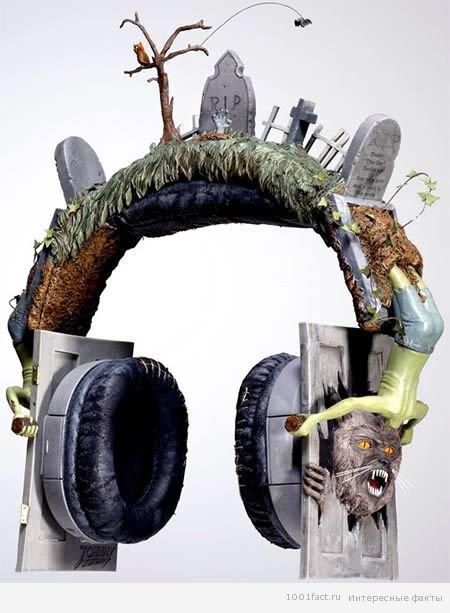 Незвичайні навушники