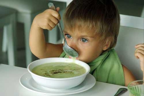 Корисний суп для дітей